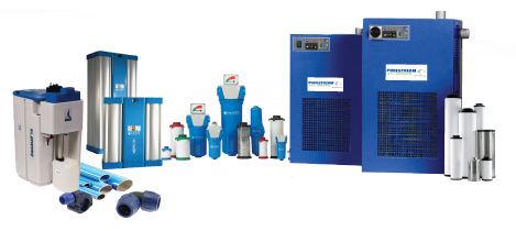 Compressed Air Purification Systems